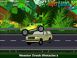 Game Monster Truck Obstacles 2