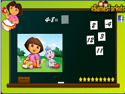 gra Dora Math Game