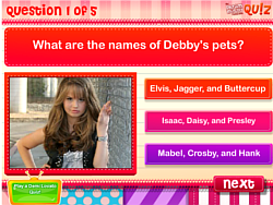 DM Quiz: How well do you know Debby Ryan? παιχνίδι