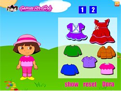 Game Dora Fun Dress Up