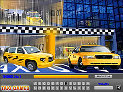 Game Taxi Hidden Alphabet