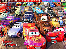 Game Wonder Cars Hidden Alphabet