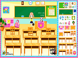 Classroom Make Over oyunu