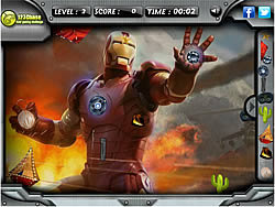 jouer au jeu gratuit iron man 3 hidden objects