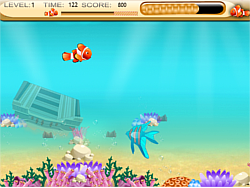 Nemo Finding foods game