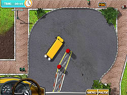 Juega al juego gratis School Bus License 2
