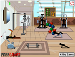 Stickman Death Gym