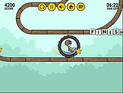 Играть бесплатно в игру Monobike Kamikaze
