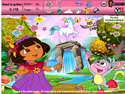 Dora Adventure Hidden Objects game