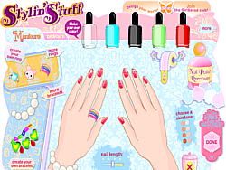 Game Nail Make Over