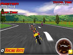 Harley Davidson Burned Roads game