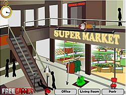 Game Stickman Death Shopping Mall