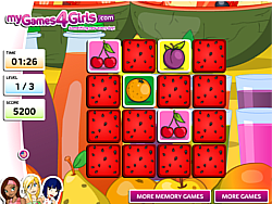 Fruit Memo Game игра