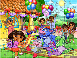 Game Dora Puzzle Jigsaw