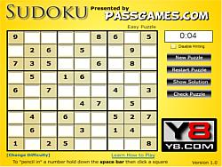 Sudoku PG game