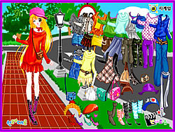 Street Fashion Dress up game