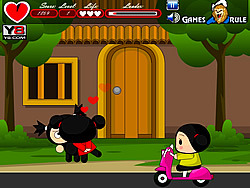 Game Pucca Kiss