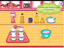 無料ゲームのHello Kitty Apples And Banana Cupcakesをプレイ
