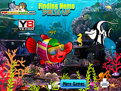 Game Finding Nemo Dressup