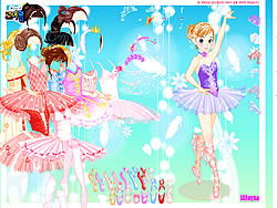 Ballerina Dress up 2 لعبة