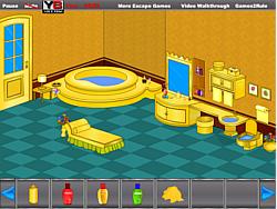 Golden Bathroom Escape