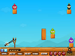 Angry Birds Hunt game