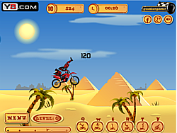 Pyramid Moto Stunts game