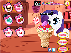 Juega al juego gratis Little Pony Ice Cream