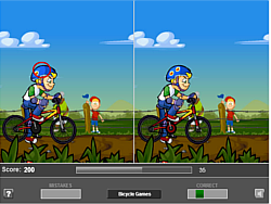 Juego Bicycle Differences