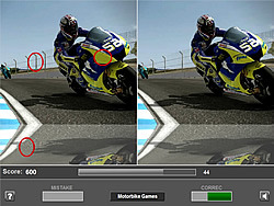 Game Motorbike Differences