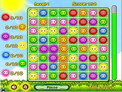 Happy Flowers game