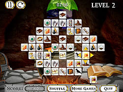 Jouer au jeu gratuit Magic World Mahjong
