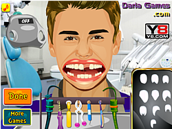 Justin Bieber Perfect Teeth oyunu