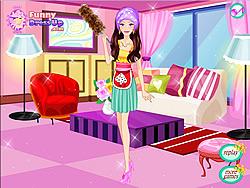 無料ゲームのCleaner Girl Dressupをプレイ