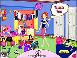 Dress Up Teen for a Day game