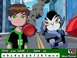 Game Ben 10 Omniverse Hidden Letters
