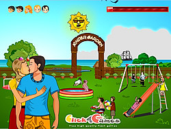 Game Kinder Garden Kissing