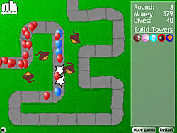 Juega al juego gratis Bloons Tower Defense