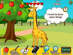 Game Jane Care Baby Giraffe