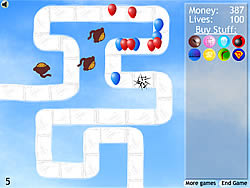 Juega al juego gratis Bloons Tower Defense 2