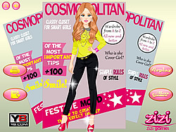 Cover Girl Dressup game