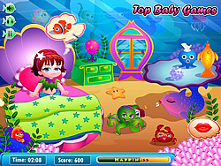 Mermaid Lola Baby Care игра