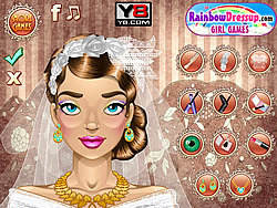 Bridal Glam Make-Up игра