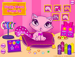 Fluffy Starz Dress up game