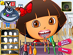 Game Dora At Dentist