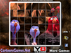 Free Birds Spin Puzzle game