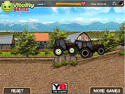 Tractor Farm Racing لعبة