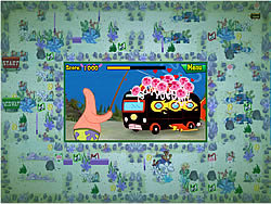 Spongebob Squarepants atlantic bus rush game