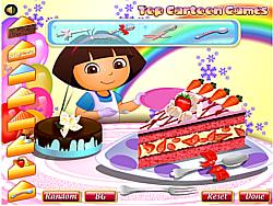 Dora Yummy Torte game