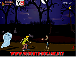 Scooby Doo Ghost Kiss game